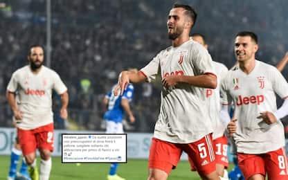 """Pjanic e il gol al Brescia: """"Da lì segno sempre"""""""