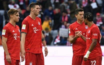 Bayern ko, Lipsia e Borussia non ne approfittano