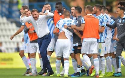 Petagna-gol, Parma ko con la Spal
