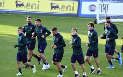 Italia 'rinascimentale': 3^ maglia è verde. FOTO