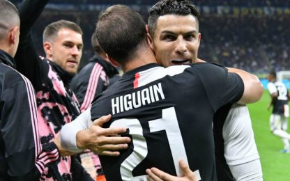 """Ronaldo esulta sui social: """"Noi di nuovo in testa"""""""