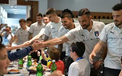Sorriso Italia: 2 giorni in visita al Bambino Gesù