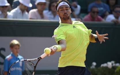 Roland Garros 2017, primo turno Fognini-Tiafoe