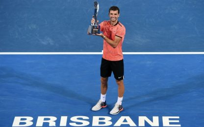 Brisbane, vince a sorpresa Dimitrov: Nishikori ko