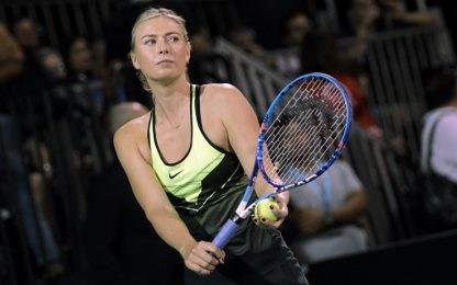 La Sharapova è pronta: rientrerà ad aprile