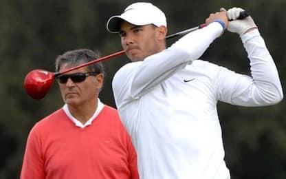 """Nadal non pensa al ritiro: """"Il golf può aspettare"""""""