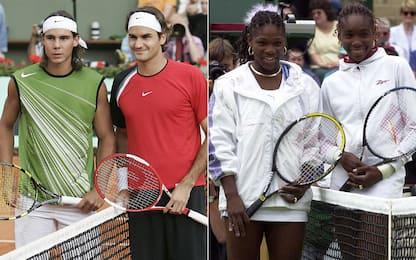 Federer-Nadal e le Williams: che finali vintage!