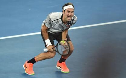 "Federer da urlo: ""Vinco e mi diverto da 20 anni"""