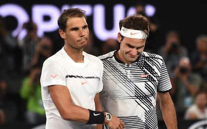 Nadal si inchina a Federer: il meglio della finale