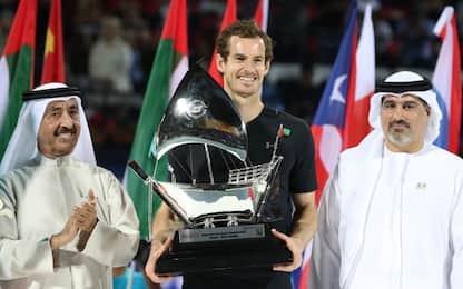 Primo trionfo di Murray a Dubai: Verdasco ko
