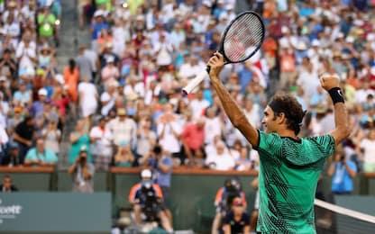 Indian Wells, Federer batte Nadal in 2 set