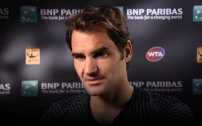 """Federer: """"Con Nadal mia miglior partita del 2017"""""""