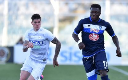 "Udinese, 7 gol all'Abano. De Paul: ""Felice qui"""