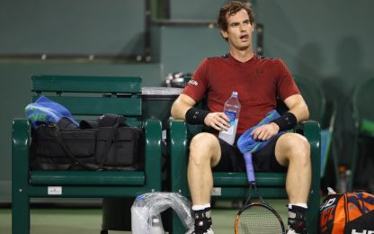 Miami Open, forfait di Murray. Nole in dubbio
