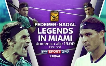 Federer-Nadal: orario e diretta tv della finale