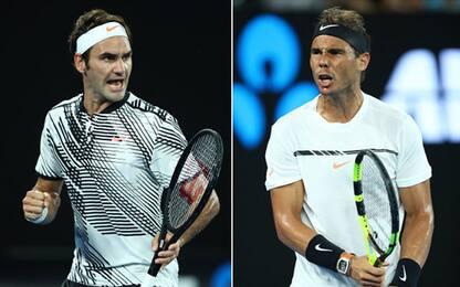 Ancora tu: Federer-Nadal, tutti i precedenti