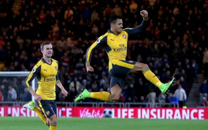 Monday Night, l'Arsenal vince a Middlesbrough