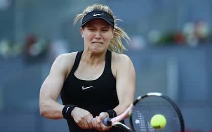 A Madrid grande Bouchard, battuta la Sharapova