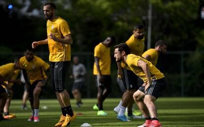 Juventus-Lazio, Mandzukic e Parolo in dubbio