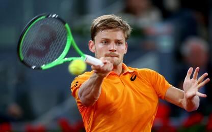 ATP Roma: rimonta di Goffin, facile Berdych