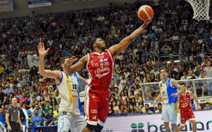 Playoff, Milano in semifinale: 3-1 all'Orlandina