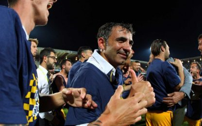 """Verona in Serie A, Pecchia: """"Promozione meritata"""""""