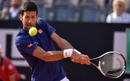 Roma, Djokovic in finale, battuto anche Thiem