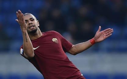 Roma, Bruno Peres salta l'Inter: stop di 15 giorni