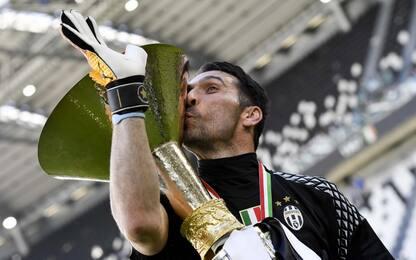 Buffon e l'ottavo scudetto, Gigi è nella storia