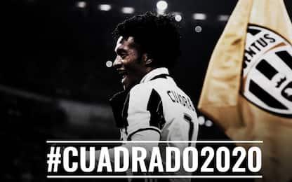 Juventus, riscattato Cuadrado: al Chelsea 20 mln