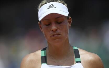 Roland Garros, subito fuori la numero uno Kerber