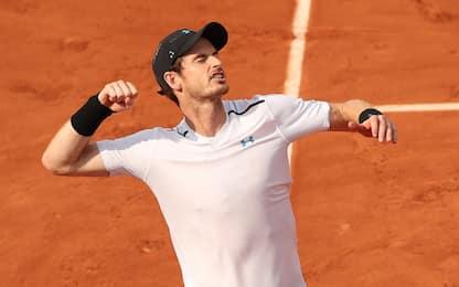 Roland Garros, Murray fatica e trova Del Potro