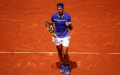 Roland Garros, Nadal devastante: vola ai quarti