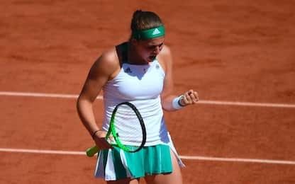 Roland Garros, la finale sarà Ostapenko-Halep