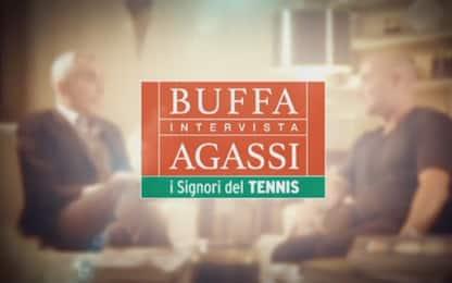 Buffa intervista Agassi