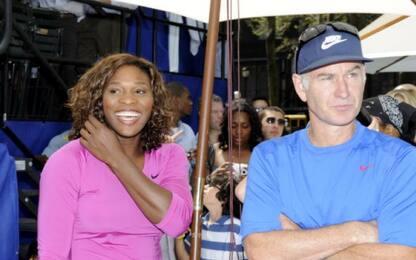 """McEnroe: """"Serena negli uomini sarebbe numero 700"""""""
