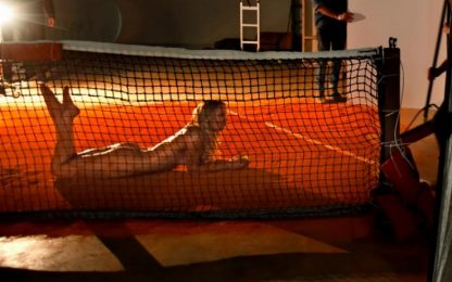 """Caroline Wozniacki posa nuda per """"The Body Issue"""""""