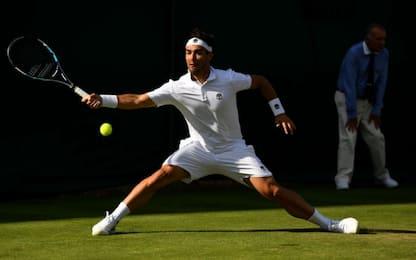 Wimbledon, fanno festa cinque azzurri. Vinci fuori