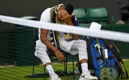 Wimbledon, prima sorpresa: si ritira Kyrgios