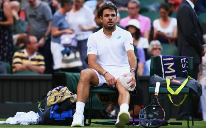 Wimbledon, Medvedev manda a casa Wawrinka