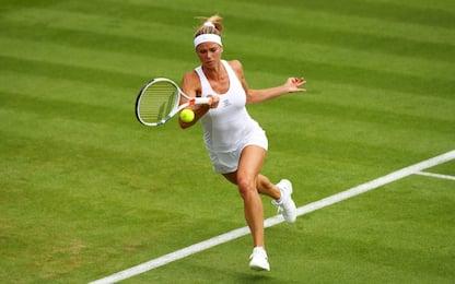Wimbledon 2017, Giorgi eliminata dalla Ostapenko