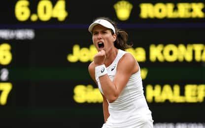 Konta-Williams e Muguruza-Rybarikova le semifinali