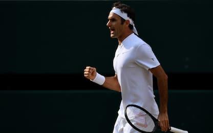 Wimbledon: Federer per la storia, è in finale