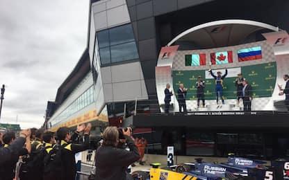 F2, a Silverstone vince Latifi. Ghiotto sul podio