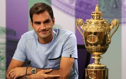 "Federer: ""Mi ispiro a Rossi, Jordan e Schumacher"""