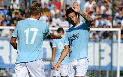 Lazio, 3-0 alla Triestina: esordio per Lucas Leiva