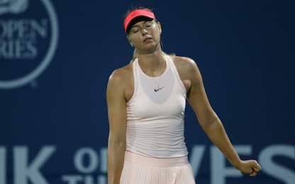 Ancora problemi Sharapova: si ritira a Stanford