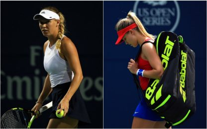 Rogers Cup: ok Wozniacki e Svitolina, out Bouchard