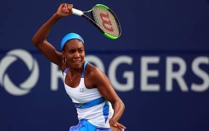 Toronto: Pliskova ai quarti, Venus Williams ko