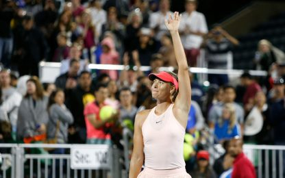 Us Open, la Sharapova ci sarà: offerta wild card